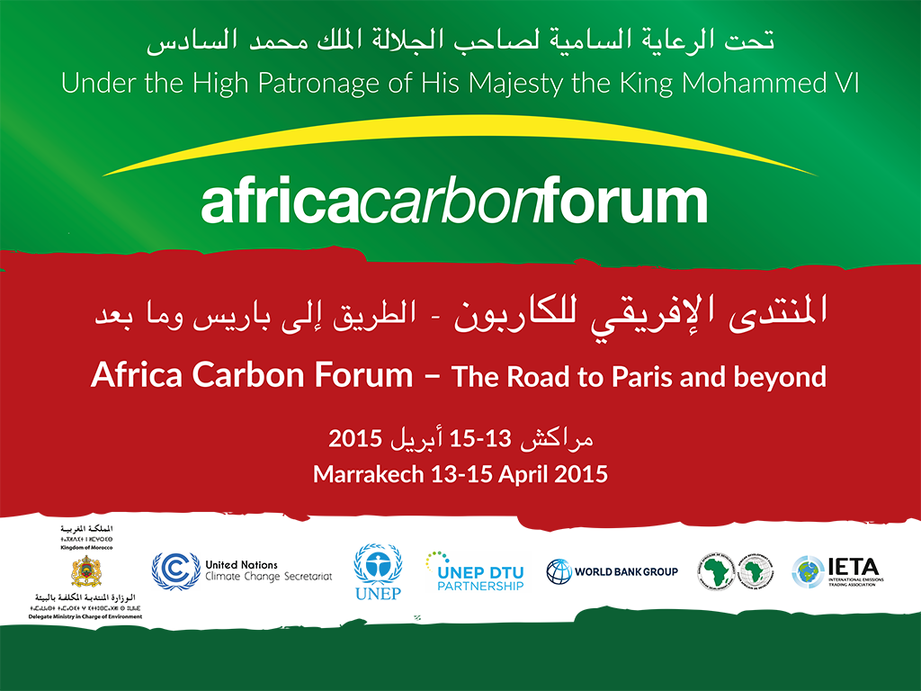 Africa Carbon Forum The Road to Paris and beyond
